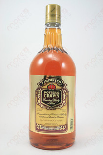 Potter's Crown Whiskey 1.75L