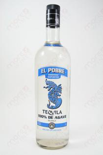 El Pobre Blanco Tequila 1L