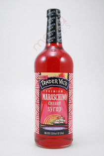 Trader Vic's Maraschino Cherry Syrup 1L