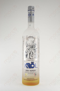 Krol Lemon Raspberry Vodka 750ml
