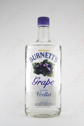 Burnett's Grape Vodka 750ml