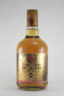 Ron Viejo de Caldas Rum Aged 3 Years 750ml