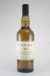 Caol Ila 12 Years Old Islay Single Malt 750ml