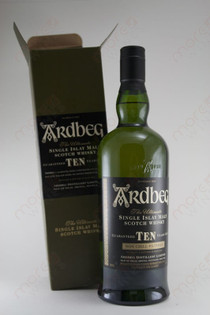 Ardbeg 10 Years Single Malt Whiskey 750ml