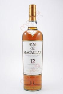 The Macallan Single Malt Scotch Whisky 12 Years 750ml