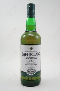 Laphroaig Islay Single Malt 18 Years Old 750ml