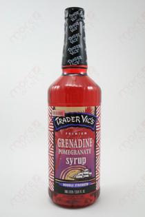 Trader Vic's Grenadine Pomegranate Syrup 750ml