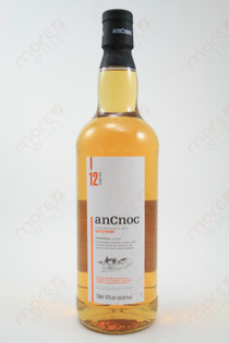Ancnoc 12 Year Old Single Malt Scotch Wiskey 750ml