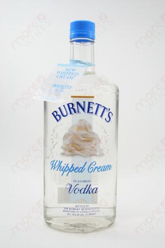 Burnett's Whipped Cream Vodka 750ml - MoreWines