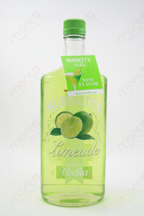 Burnett's Limeade Vodka 750ml