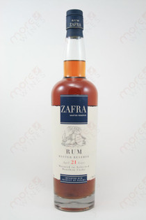 Zafra Master Reserve 21 Year Old Rum 750ml