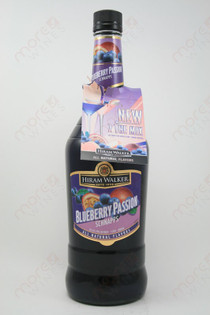 Hiram Walker Blueberry Passion Schnapps 1L