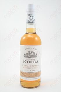 Koloa Gold Hawaiian Rum 750ml