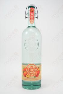 360 Georgia Peach Vodka 750ml