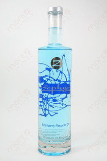 Blu Zephyr Elderberry Flavored Gin 750ml
