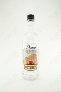 Potter's Peach Vodka 750ml