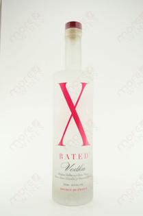 X Rated Vodka 750ml