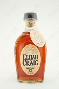 Elijah Craig Kentucky Straight Bourbon Whiskey 750ml