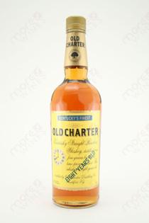 Old Charter Kentucky Straight Bourbon Whiskey 750ml