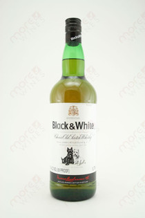 Black & White Choice Old Scotch Whisky 1L