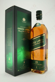 Johnnie Walker Green Label Blended Malt Scotch Whisky 750ml
