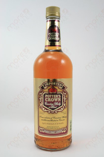 Potter's Crown Imported Blended Canadian Whiskey 1L