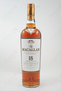 The Macallan 18 Year Single Malt Highland Scotch Whisky 750ml