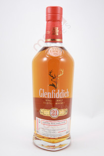 Glenfiddich 21 years-old Reserva Rum Cask Finish Single Malt Scotch Whisky 750ml