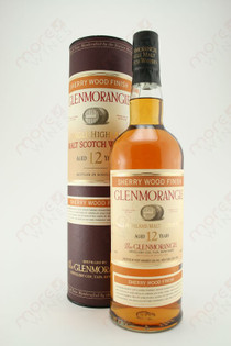 Glenmorangie 12 Year Sherry  Wood Finish Single Highland Malt Scotch Whisky 750ml