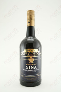 Duff Gordon Medium Dry Nina Sherry 750ml