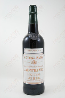 Savory & James Amontillado Medium Sherry Jerez 750ml