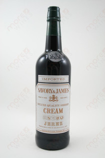 Savory & James Cream Sherry Jerez 750ml