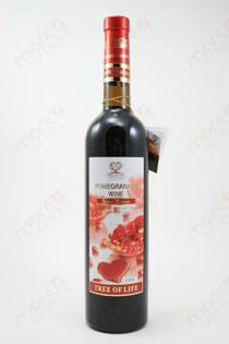 Tree of Life Pomegranate Wine Semi-Sweet 750ml