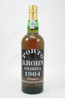 Porto Krohn Colheita Branco 1964 750ml