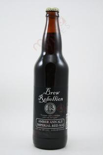 Brew Rebellion Amber Ann Ale 22fl oz