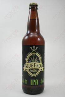 Blue Frog IPA 22fl oz