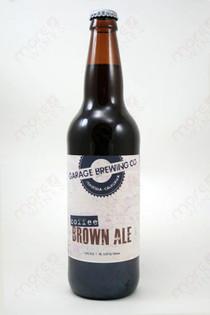 Garage Brewing Co Coffee Brown Ale 22fl oz