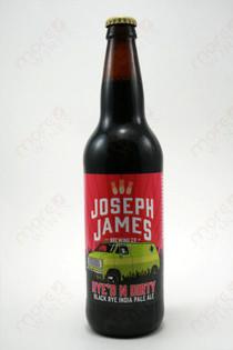 Joseph James Brewing Rye'd n Dirty Black Rye IPA 22fl oz