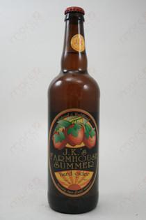 J.K.'s Farmhouse Summer Hard Cider 22fl oz