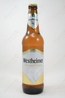 Westheimer Premium Pilsener 16.9fl oz