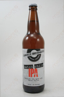Garage Brewing Co Hatch Chile IPA 16.6fl oz