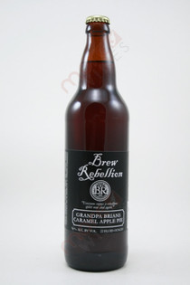 Brew Rebellion Grandpa Brians Caramel Apple Pie 22fl oz