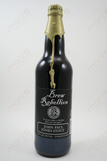 Brew Rebellion John Paul Jones Stout 22fl oz