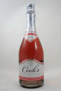 Cook's Sweet Rose Sparkling Wine 750ml