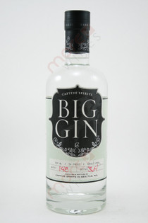 Big Gin Captive Spirits 750ml