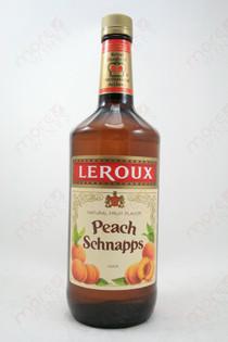 Leroux Peach Schnapps 1L
