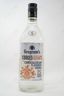 Seagram's Cookies & Cream Vodka 750ml