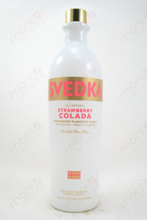 Svedka Strawberry Colada Vodka 750ml