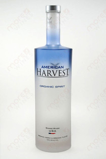 American Harvest Organic Spirit Vodka 750ml