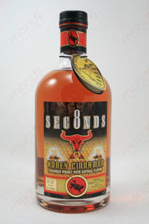 8 Seconds Honey Cinnamon Whiskey 750ml